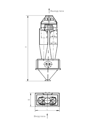 ЦН-15-750-2СП Циклон