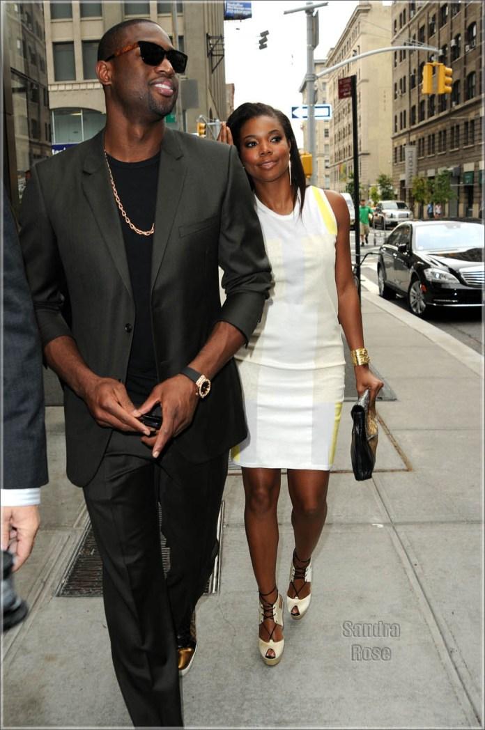 Dwyane Wade & Gabrielle Union Leave Their Hotel Together