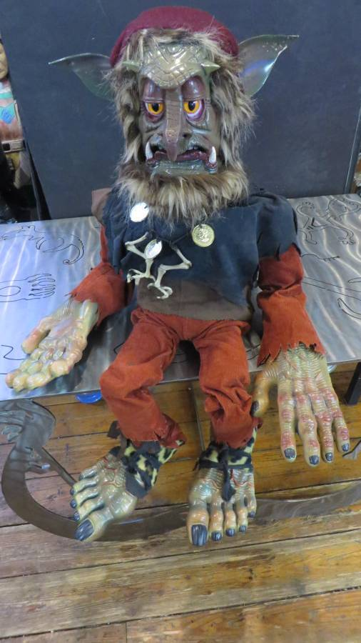 NEW FULL SIZE TROLL VENTRILOQUIST FIGURE EXCELLENT DETAIL ...