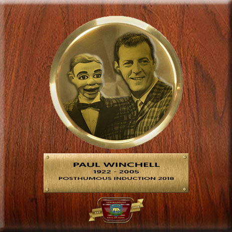 Paul Winchell Ventriloquist at Ventriloquist Hall of Fame