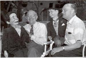Ventriloquist Edgar Bergen and The Great Lester