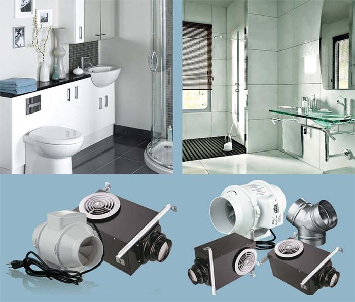 bathroom exhaust fan duct kit image
