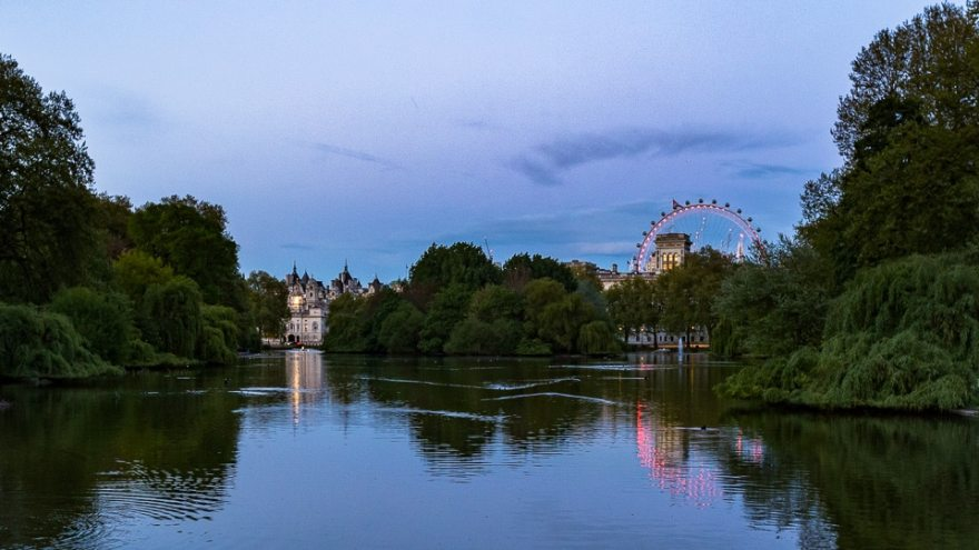 london eye st james