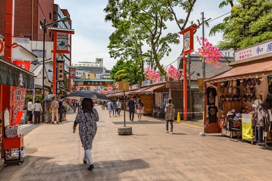 denbouin street tokyo