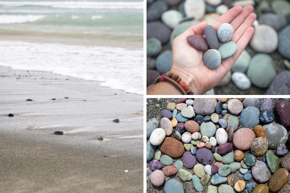 NZ-catlins gemstone beach