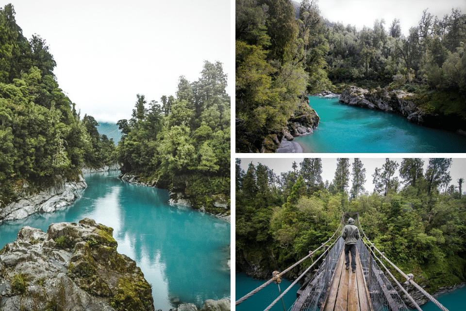 hokitika gorges west coast south island