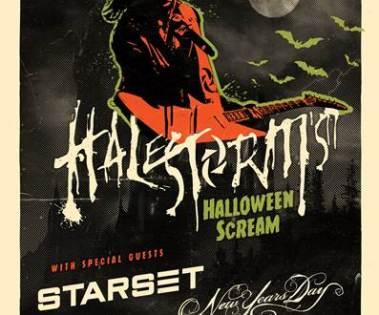halestorm unveil halloween scream tour grammy winning band announces major us headline tour