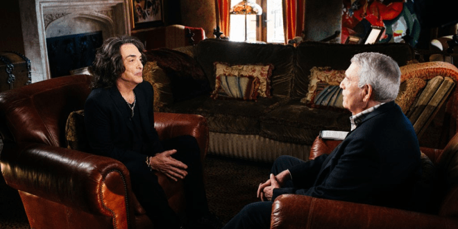 """KISS' Paul Stanley Talks About Keeping Fame in Perspective in a First-Look Clip from Tuesday's """"The Big Interview"""" with Dan Rather"""