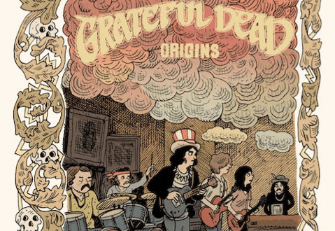 Z2 COMICS & GRATEFUL DEAD TO RELEASE GRATEFUL DEAD ORIGINS IN 2020