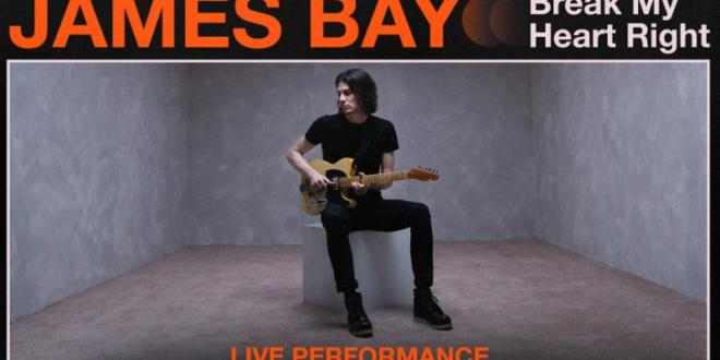 "Vevo and James Bay Release Live Performances of ""Bad"" and ""Break My Heart Right"""
