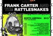 Frank Carter & The Rattlesnakes Leads This Year's Edition Of Monster Energy Outbreak Tour