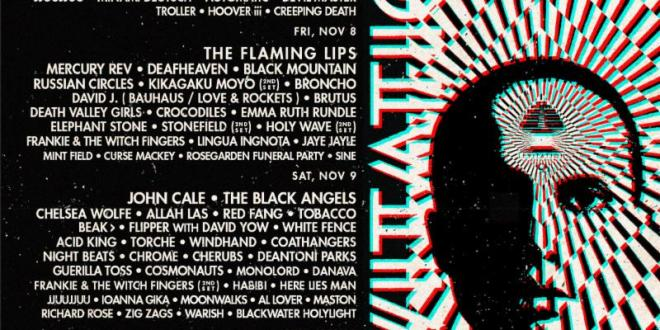 LEVITATION 2019 Announces Phase Two Lineup: The Flaming Lips, Mercury Rev, Flipper, Vagabon, Tobacco, Windhand, TR/ST & MORE