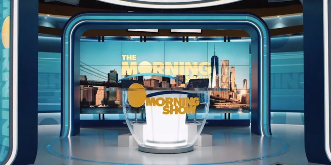 "Steve Carell, Jennifer Aniston and Reese Witherspoon Wake Up with ""The Morning Show"""