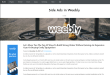 Beginners Guide to Use Weebly to build a Website