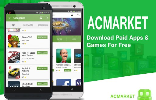Free Download 3rd Party Android Apps on PC – Install ACMarket APK on