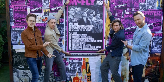 McFLY ANNOUNCE THE 2020 TOUR