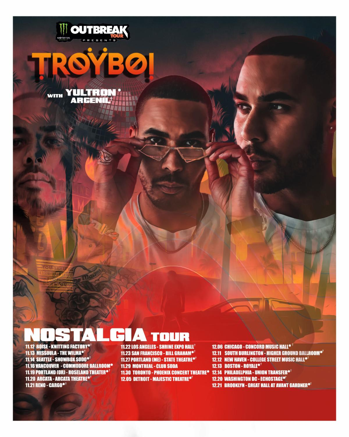 Troyboi Teams With Monster Energy For 2020 Up & Up College Tour ile ilgili görsel sonucu