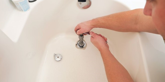 How to Remove a Drain from a Tub?