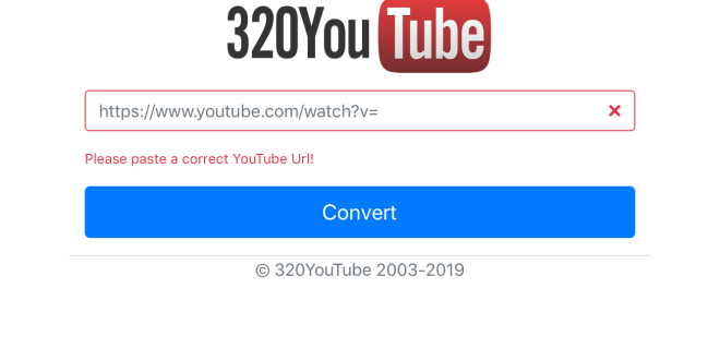 Convert youtube to mp3 320kbps online, free