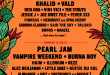 PEARL JAM, BILLIE EILISH, VAMPIRE WEEKEND, KHALID, HAIM, ILLENIUM AND MORE TO PERFORM AT LOLLAPALOOZA PARIS 2020