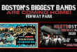 Aerosmith Celebrate 50th Anniversary at Fenway Park on September 18