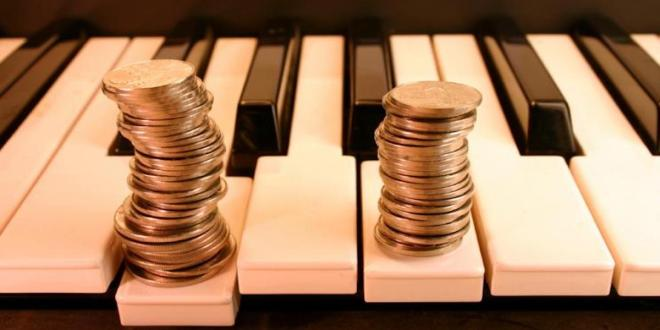 How do artists get paid in today's music business?