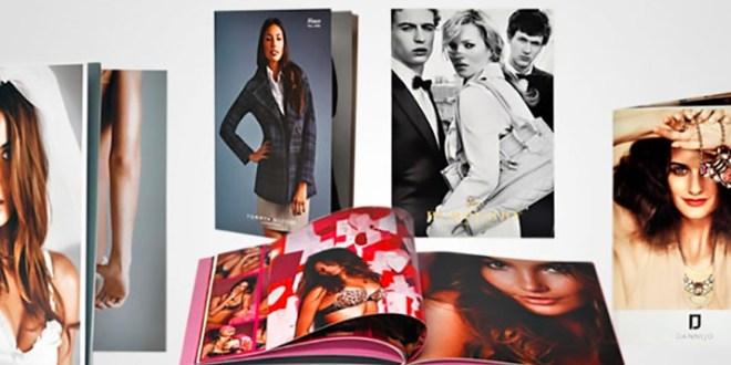 Hi-End Fashion Lookbook Printing