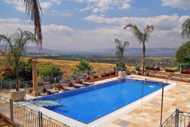 Zimmer in Northern Israel - Exposure to the Golan. Accommodation in the Golan Heights.
