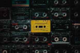 assorted title cassette tapes