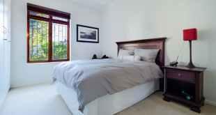 photo of bed near window