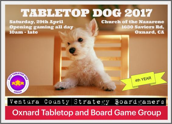 TableTop Dog 2017