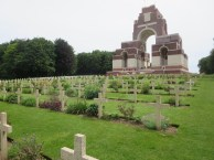 View of the Thiepval Memorial