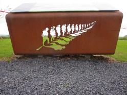 At the New Zealand Division Memorial