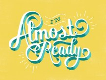 Estou quase pronto (a)