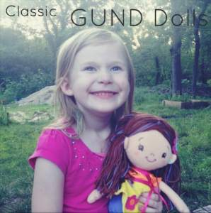 Stylish & Soft GUND Dolls Review & #giveaway