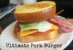 Ultimate Pork Burger Recipe