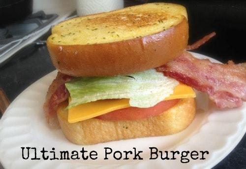 Ultimate Pork Burger Recipe