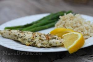 Marinated Grilled Lemon Chicken Recipe