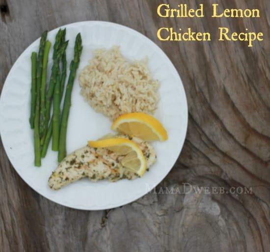 Grilled Lemon Chicken Recipe