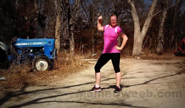 Ellie workout gear