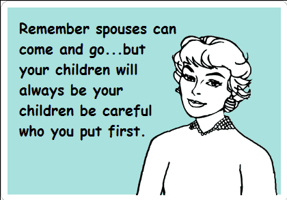 Spouse child graphic