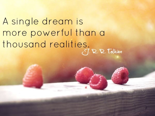 Tolkien dream quote