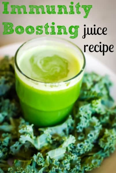 immunity boosting juice recipe