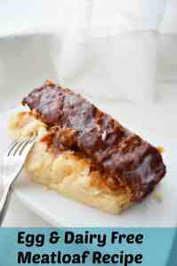 Egg & Dairy Free Meatloaf Recipe