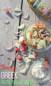 Tangy Greek Pasta Salad Recipe