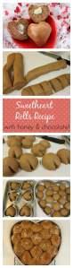 Honey Chocolate Sweetheart Rolls Recipe