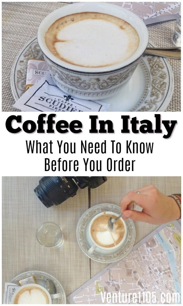 Coffee In Italy - What You Need to Know Before You Order
