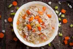 Chicken Rice & Quinoa Stew