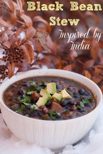 Indian Black Bean Stew