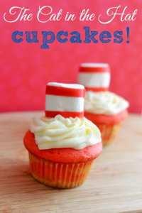 Dr. Seuss Birthday Cupcakes